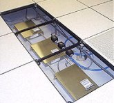 Raised access flooring for comms rooms, server rooms and data centres